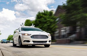 Ford promises an autonomous, ride-sharing car by 2021.