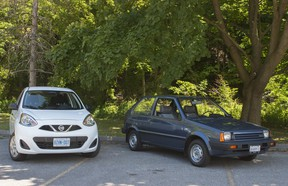 Now and then: the Nissan Micra, model years 2017 and 1987
