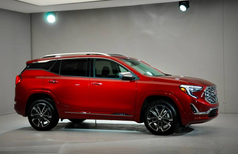 2018 GMC Terrain debut at the 2017 North American International Auto Show in Detroit.