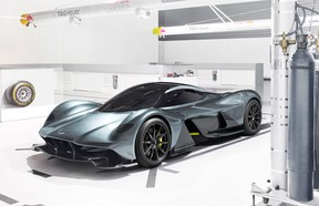 Aston Martin's Valkyrie won't be cheap – and CEO Andy Palmer won't take too kindly to buyers looking to make a quick buck off these cars.