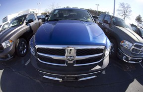Fiat Chrysler took the top spot for the month, with 16.6 per cent of the market as its sales improved by 1.6 per cent.