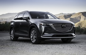 The Mazda CX-9 is vying for two World Car of the Year awards.