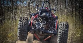 Ed Jayasinghe takes his custom-built off-road buggy for a ride.