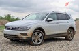 2018 Volkswagen Tiguan with new 2.0-litre turbocharged engine.