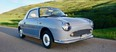 After much searching Miles Matulionis got his prized Nissan Figaro in October 2016 and drove it until the first snowfall.