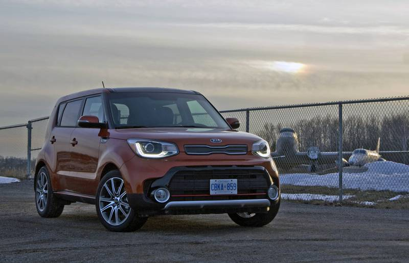 20187 Kia Soul Turbo
