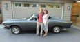 Sean Greenwood received his 1968 Chevelle Malibu sport coupe from his mother Lisa who wanted to fuel his passion for classic muscle cars by having the car restored.