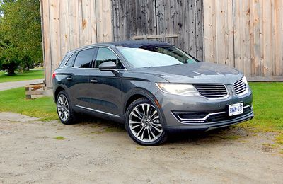 SUV Review: 2017 Lincoln MKX