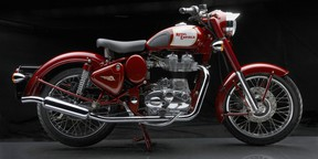 The Royal Enfield Bullet Classic