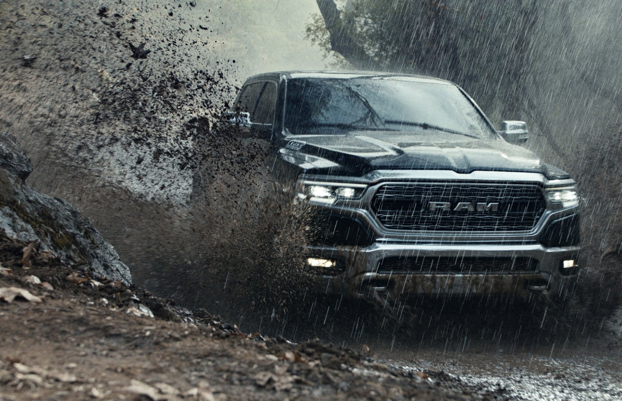 A 2019 Ram 1500 in a Super Bowl 52 ad