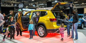The Calgary auto show is a real family affair, letting visitors get up and close with new models.