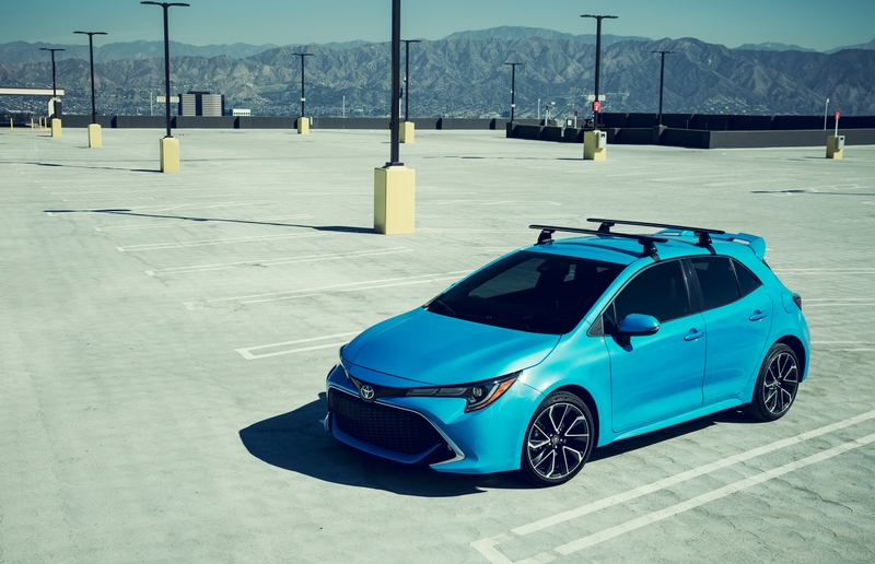 The 2019 Toyota Corolla Hatchback.