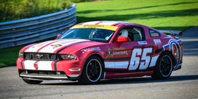 Visitors to Calabogie Motorsports Park can drive their own cars around the 5.05-kilometre race track or choose to drive one of the track's exotic cars.