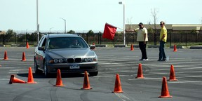 Instruction on emergency avoidance at a Tire Rack Street Survival program gives young drivers the confidence to handle difficult situations in real-world conditions.