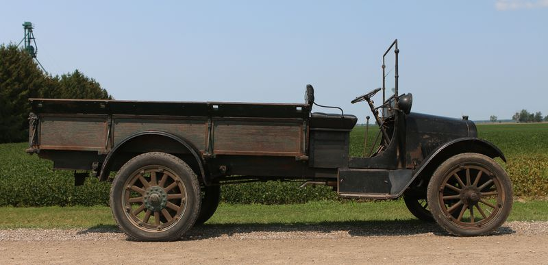 Even 100 years later, this 1918 Chevy pickup purrs 'like a tomcat in a creamery'