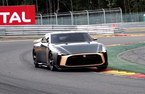 The Nissan GT-R50 at Spa-Francorchamps.