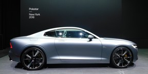 The Polestar 1 is a 600-horsepower plug-in hybrid Grand Tourer from the new automaker.