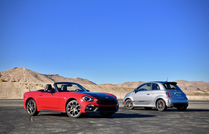 Track Test: Fiat's 2019 124 Spider, 500 Abarth are absolute hooligans