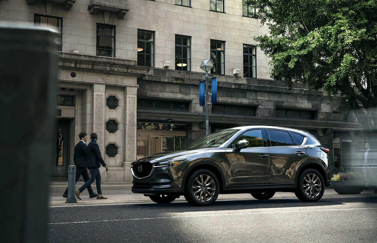 Mazda Canada Inc--2019 Mazda CX-5 Debuts With Signature Model an