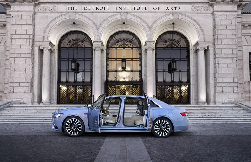 Lincoln's bringing back suicide doors for the 80th anniversary Continental
