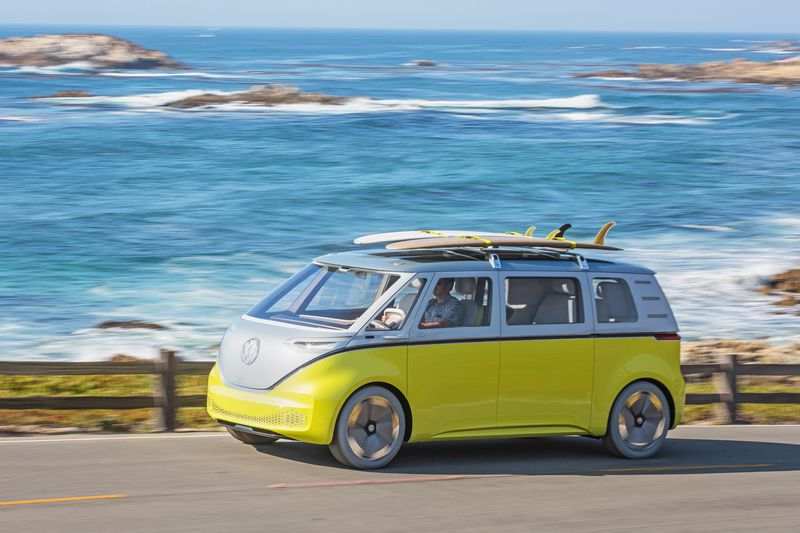 VW definitely building its new electric Microbus, but not its Tanoak truck