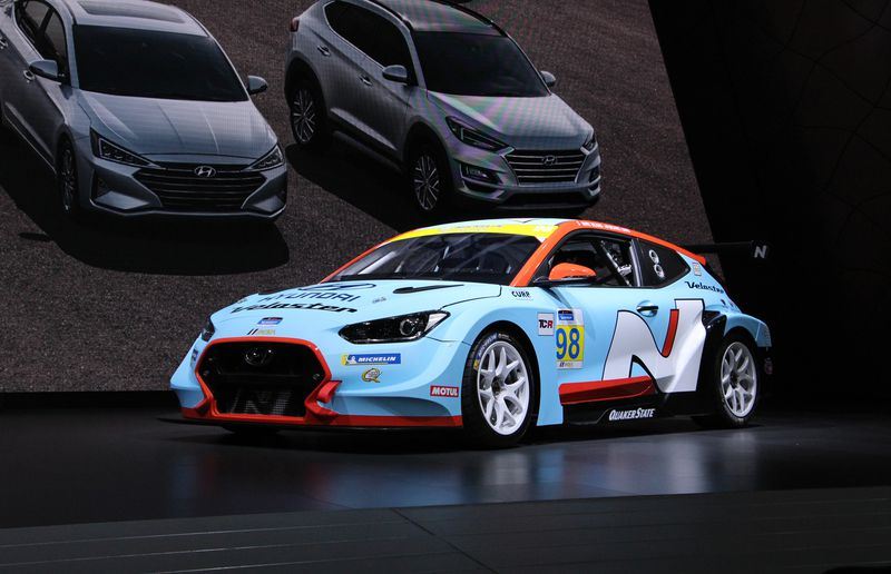Hyundai is taking the Veloster N racing with its new TCR