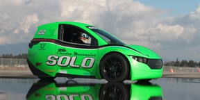 The Solo R is a race-prepped performance variant of the Solo commuter vehicle. The Vancouver-based company that produces the car, Meccanica, will have be at big presence at the show.
