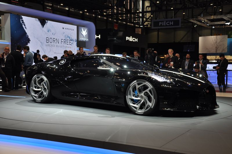 This black-as-night Bugatti may be the world's most expensive new car