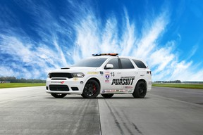 """This year's 2019 Tire Rack One Lap of America Presented by Grassroots Motorsports Magazine kicks off May 4 in South Bend, Ind., and Dodge//SRT is defending the Dodge Durango SRT's 2018 One Lap truck/SUV class title, upping its game with a new Durango SRT Pursuit concept called """"Speed Trap."""""""