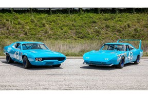 Richard Petty 1970 and 1971 Plymouth Superbird Road Runner