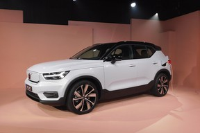 The 2021 Volvo XC40 Recharge is the company's first-ever all-electric vehicle and heralds the roll out of a new EV from Volvo each coming year for the next five years.