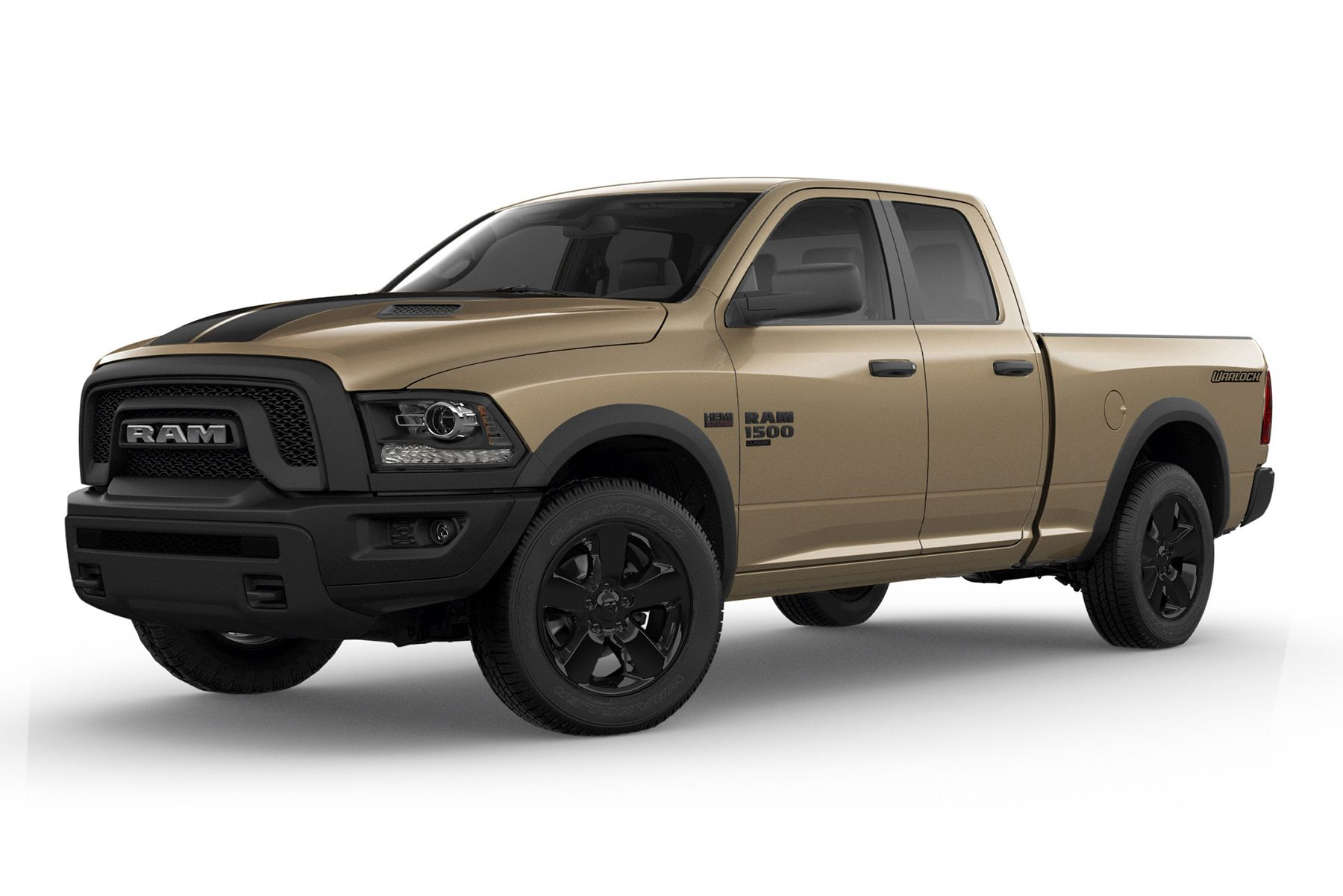 2019 Ram 1500 Classic Warlock now offers Mojave Sand Package