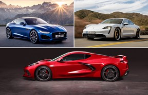 The Jaguar F-Type, Porsche Taycan, and of course, the mid-engine Corvette are just some of the upcoming performance cars we're looking forward to the most.