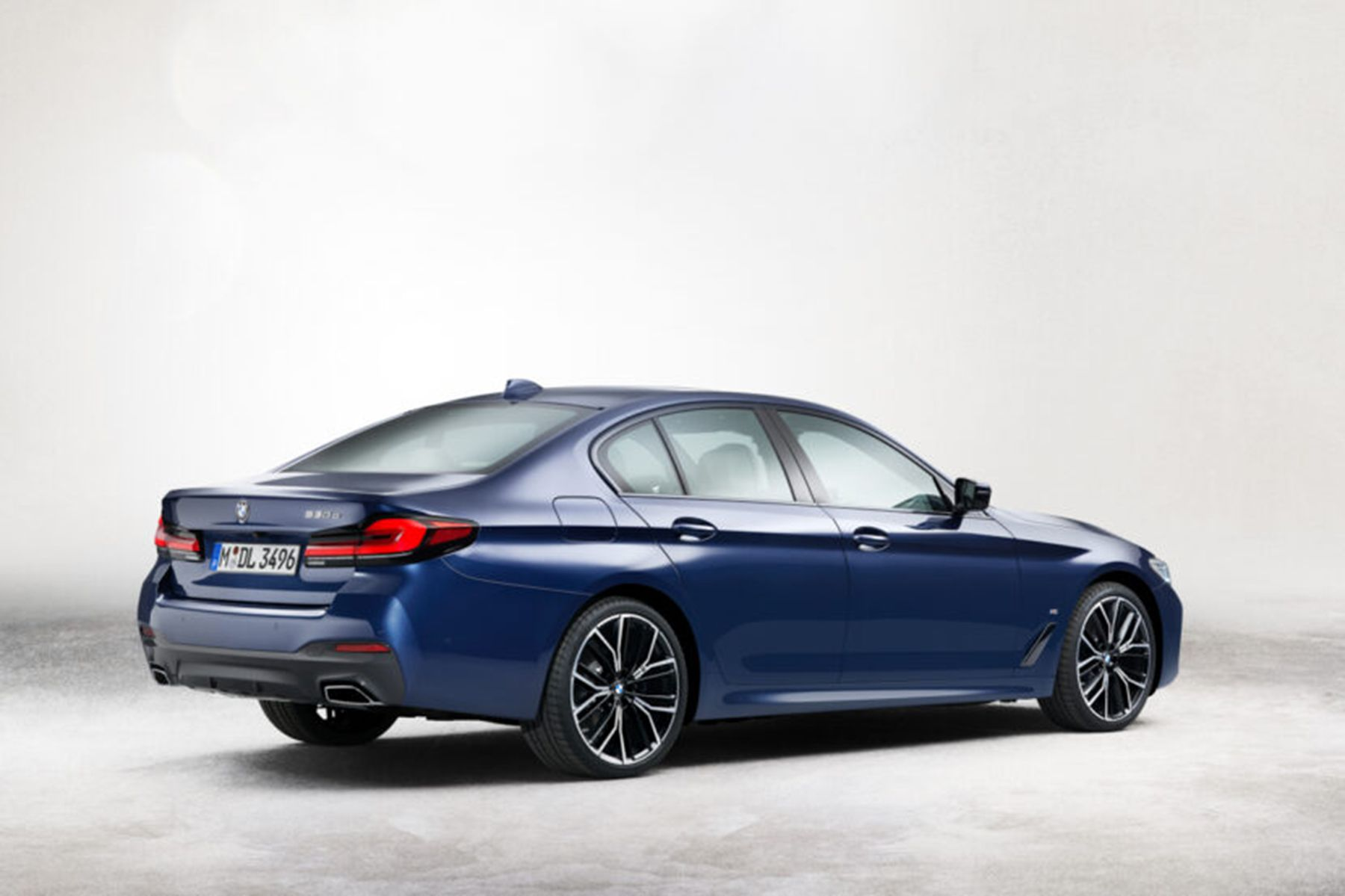 leaked 2021 bmw 5 series facelift lci