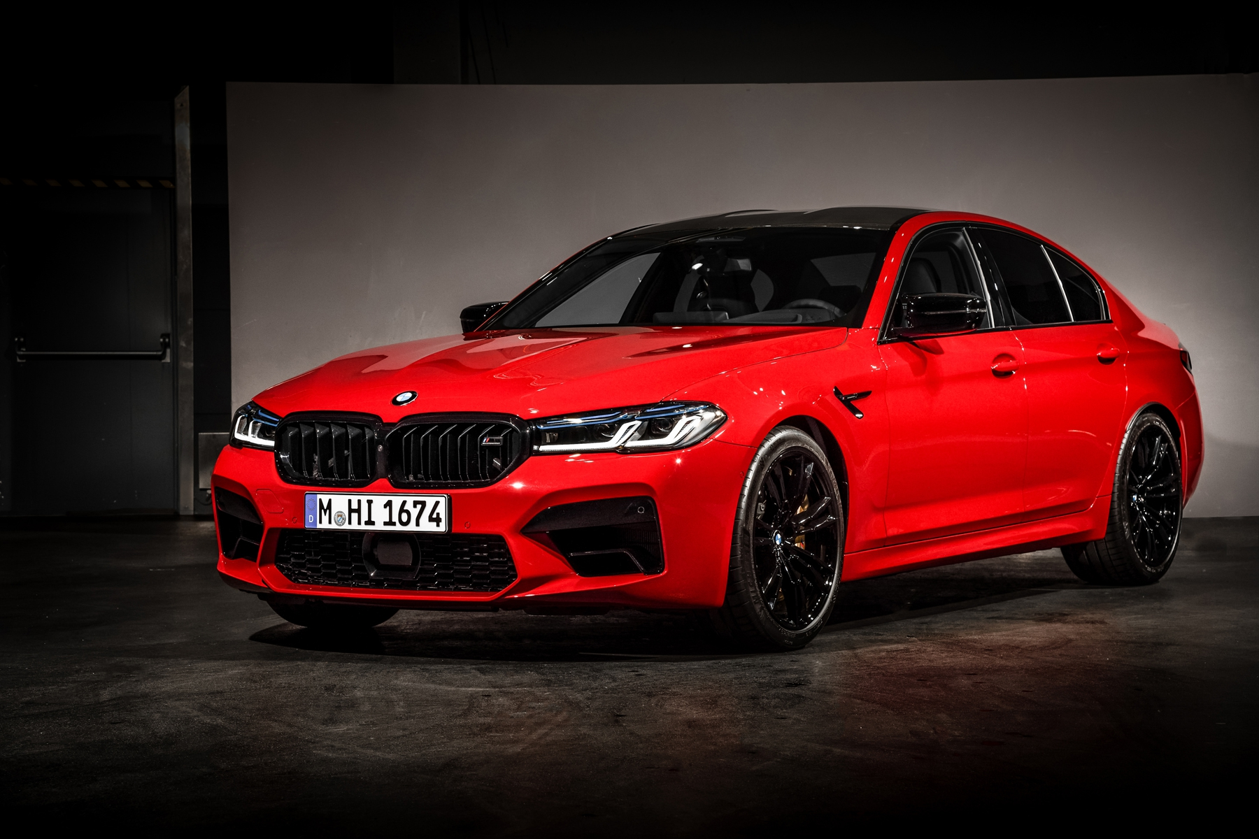 The 2021 BMW M5 Competition