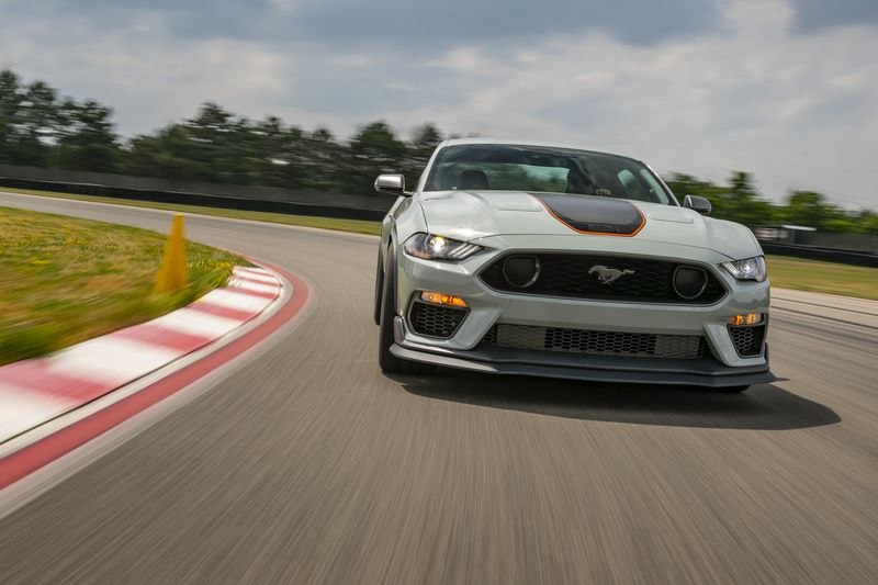 The 2021 Ford Mustang Mach 1
