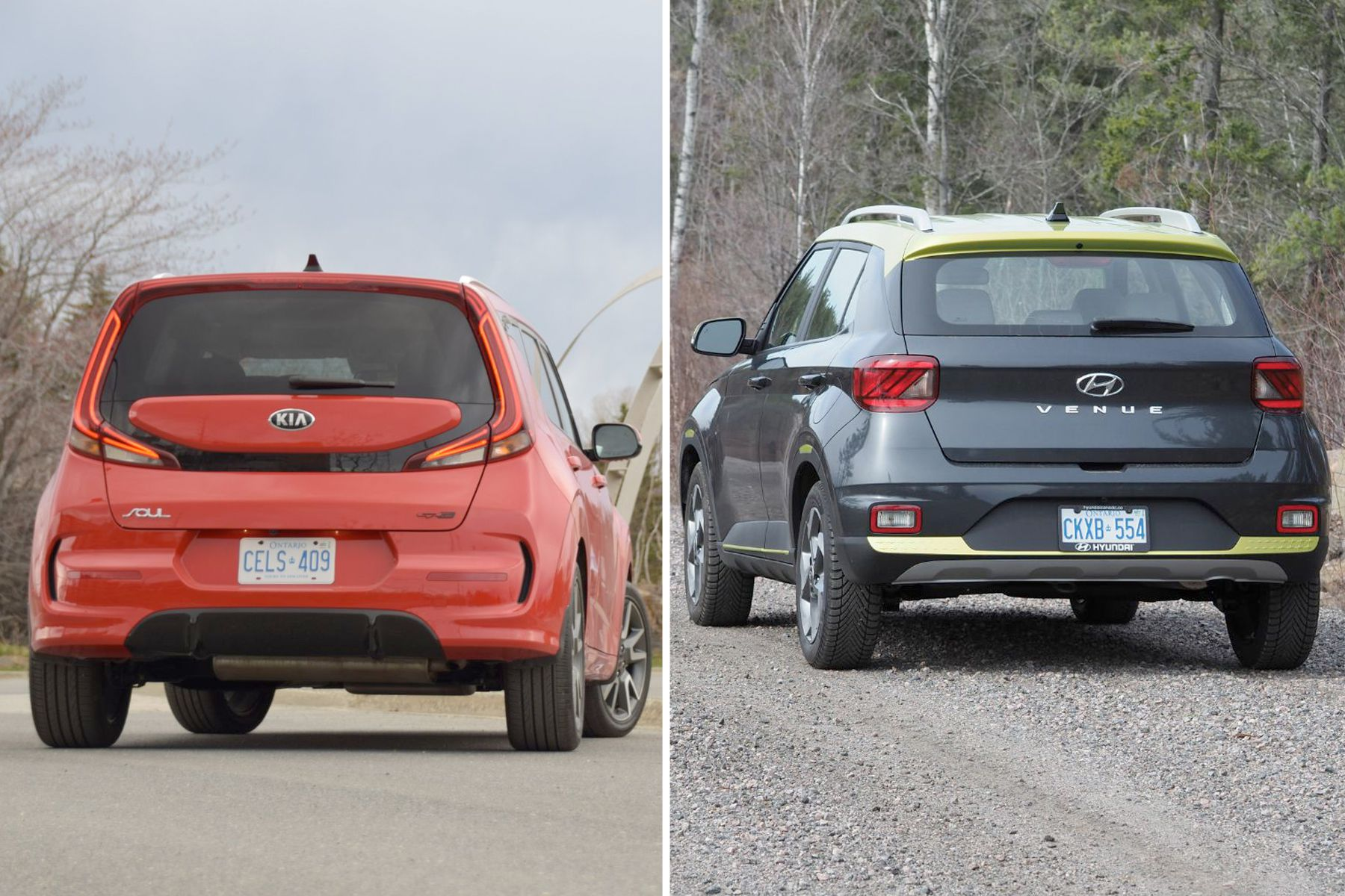 2020 Kia Soul vs. 2020 Hyundai Venue