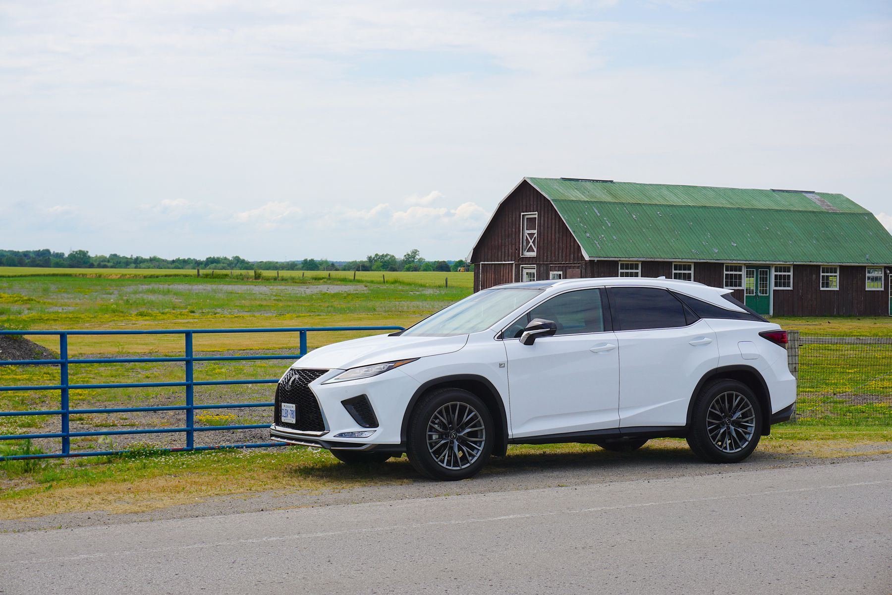Suv Review 2020 Lexus Rx 350 F Sport Driving