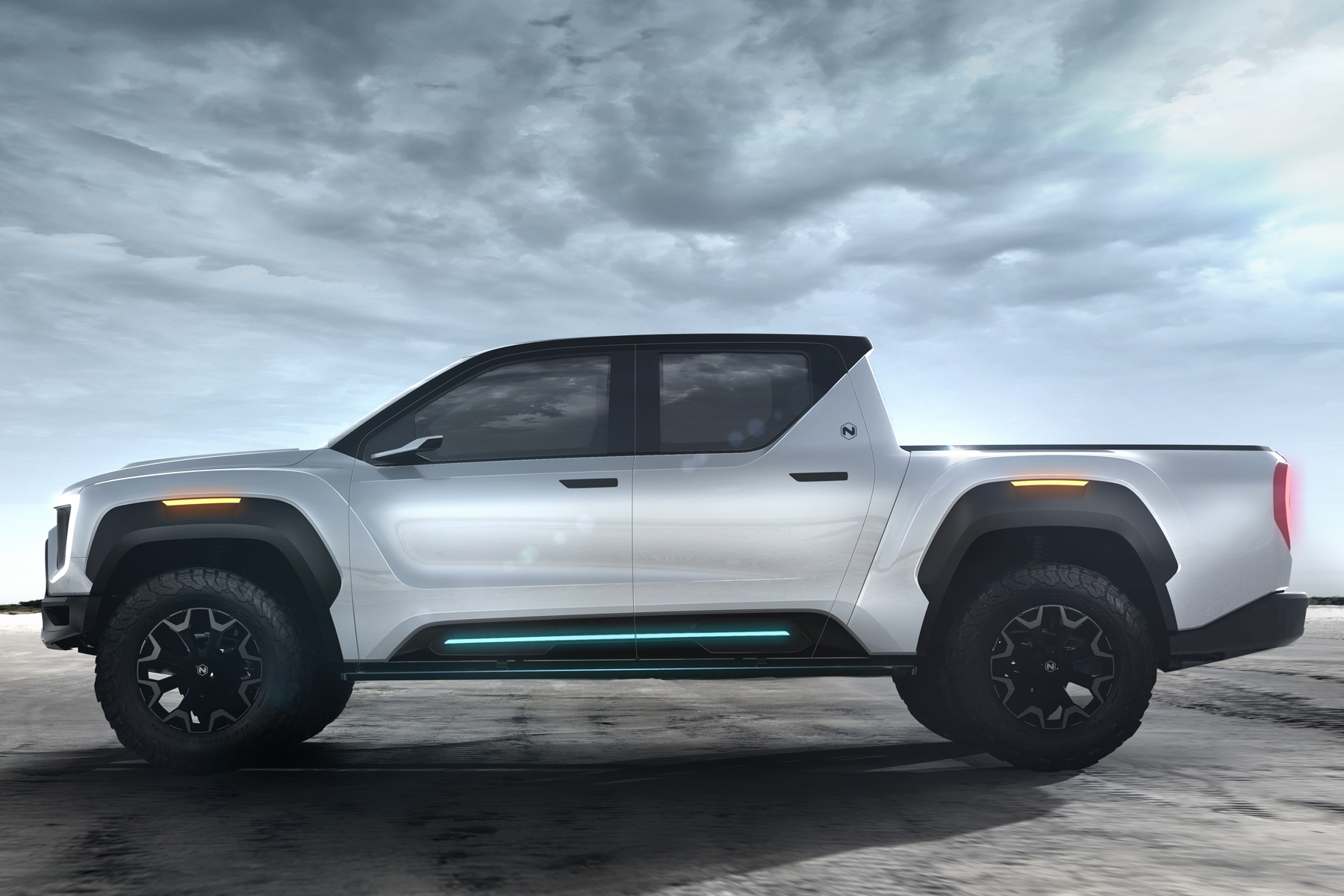 The 2020 Nikola Badger electric pickup
