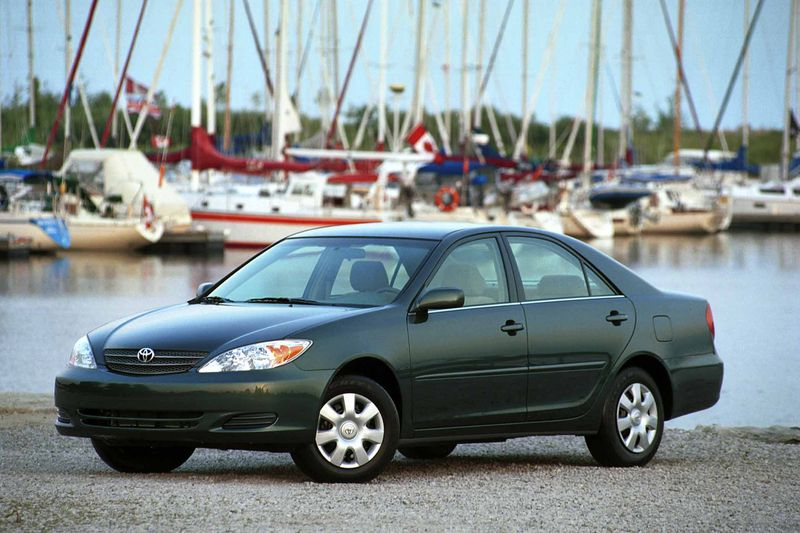 The 2002 Toyota Camry LE