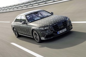 Test drive with the new Mercedes-Benz S-Class at the Test and Technology Center in Immendingen