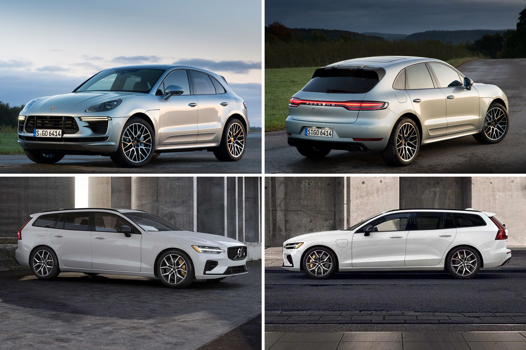 2020 Porsche Macan Turbo vs. 2020 Volvo V60 T8 Polestar Engineered
