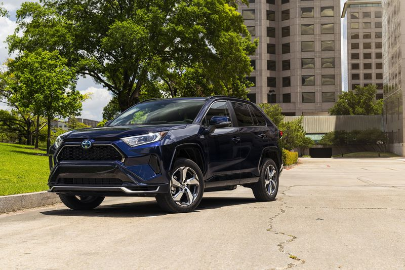 The 2021 Toyota RAV4 Prime