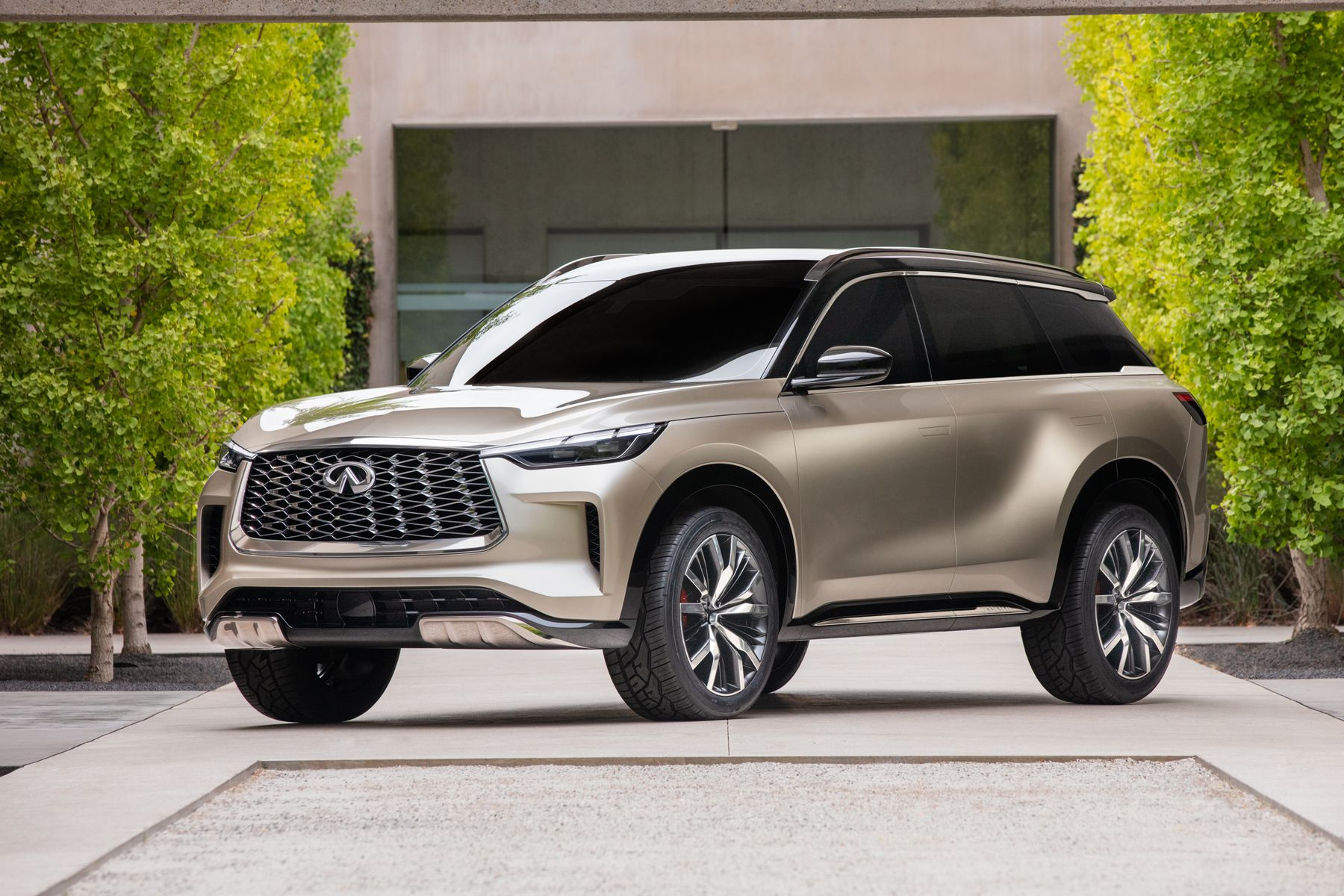 Infiniti QX60 Monograph styling exercise concept 2021 4