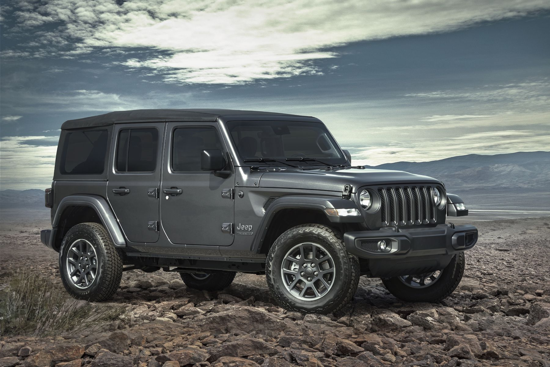 2021 Jeep Wrangler 80th Anniversary Edition.