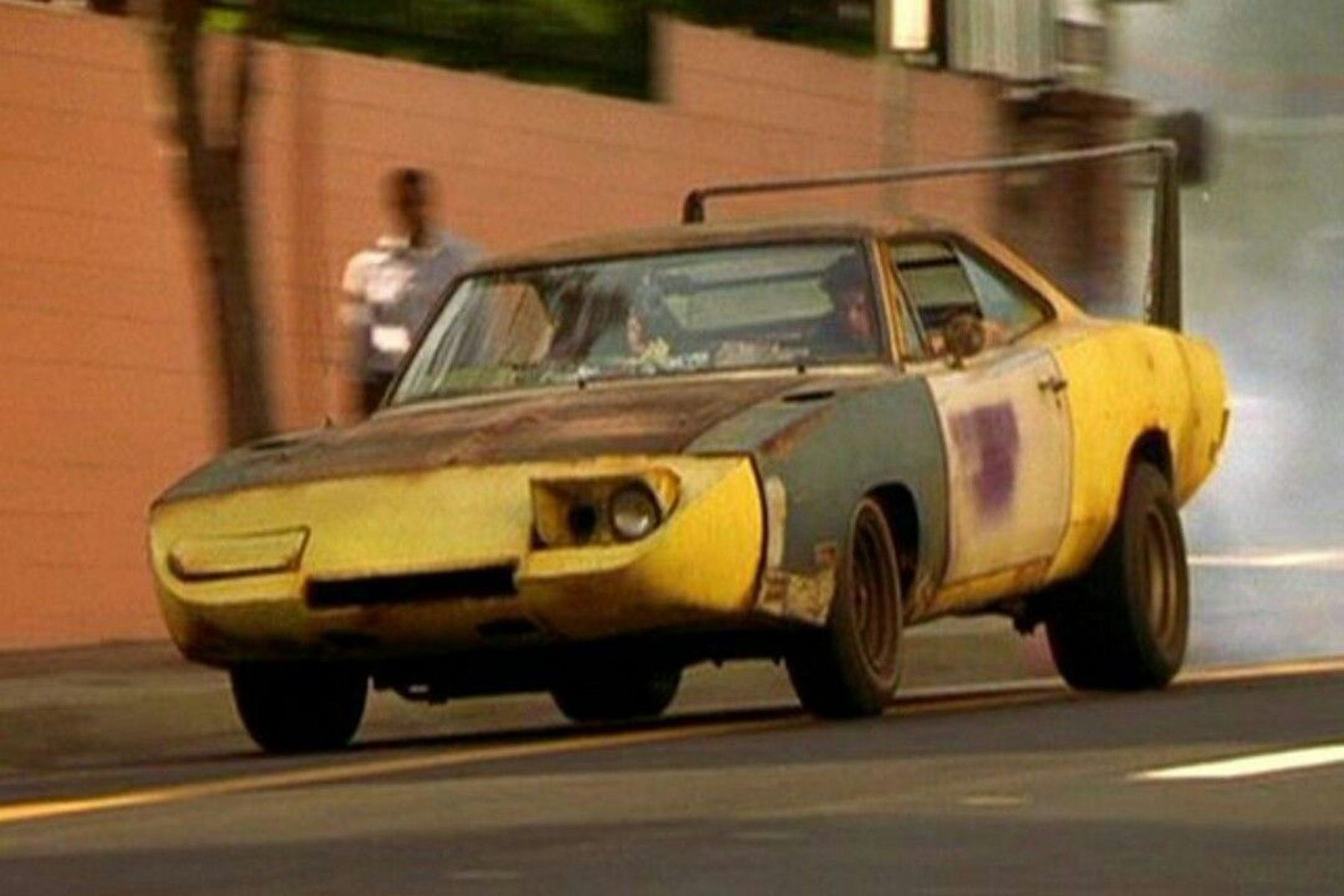 A 1969 Dodge Charger Daytona in 'Joe Dirt'