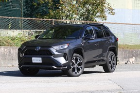 With nearly 80 kilometres of all-electric range before the 2.5-litre gas engine kicks in, the 2021 Toyota RAV4 Prime is one of the best plug-in hybrids on the market.