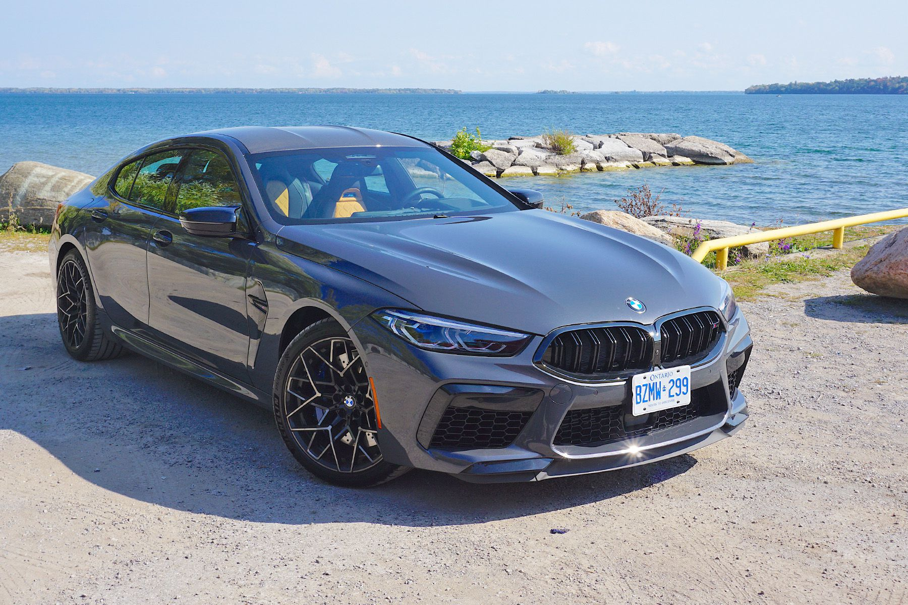 Car Review 2020 Bmw M8 Competition Gran Coupe Driving Ca Driving