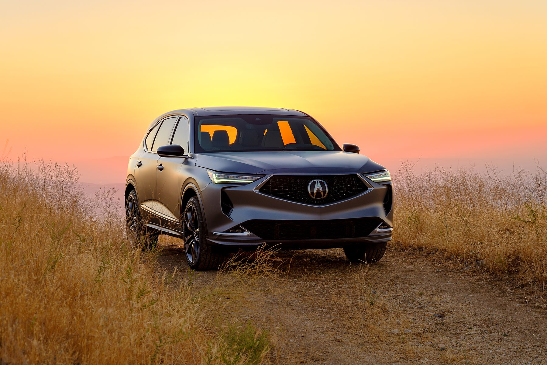 The 2022 Acura MDX Prototype