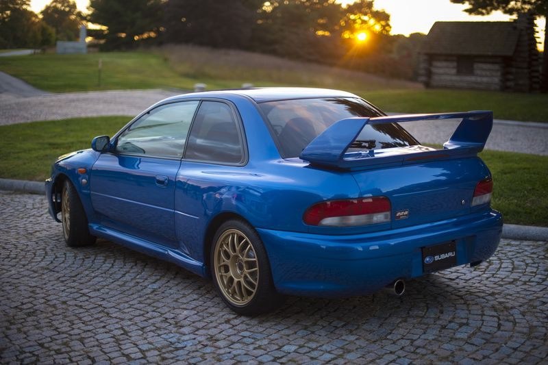 The 1999 Subaru WRX STI 22B